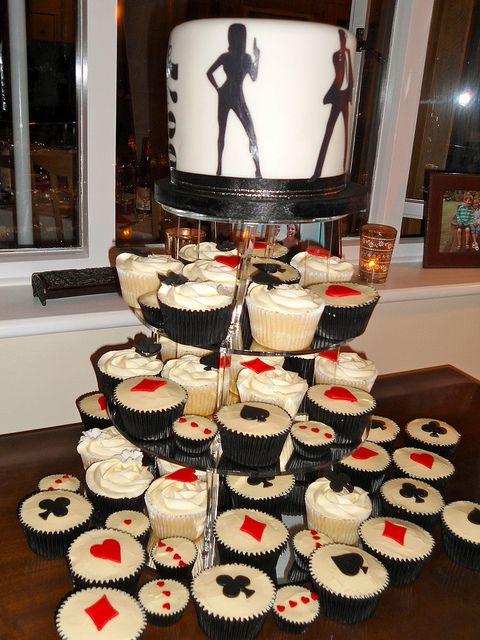 James Bond Casino Royale Cupcake Tower Casino Cakes App