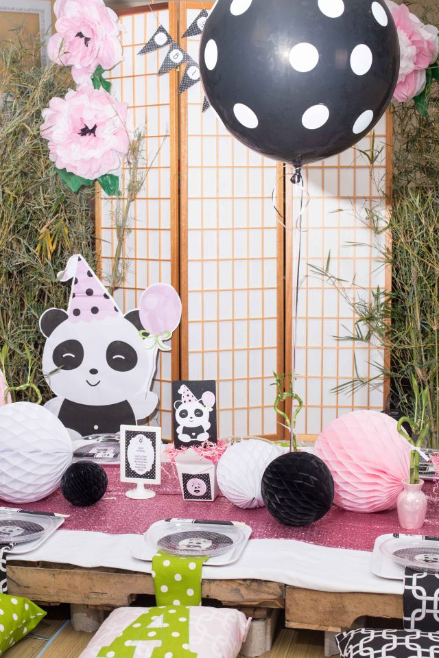 Panda party by tali of a party studio in the latest