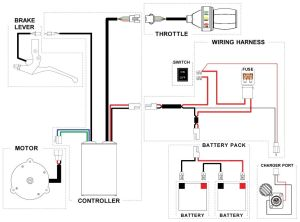 E Bike Controller Wiring Diagram likewise 7 Pin Round