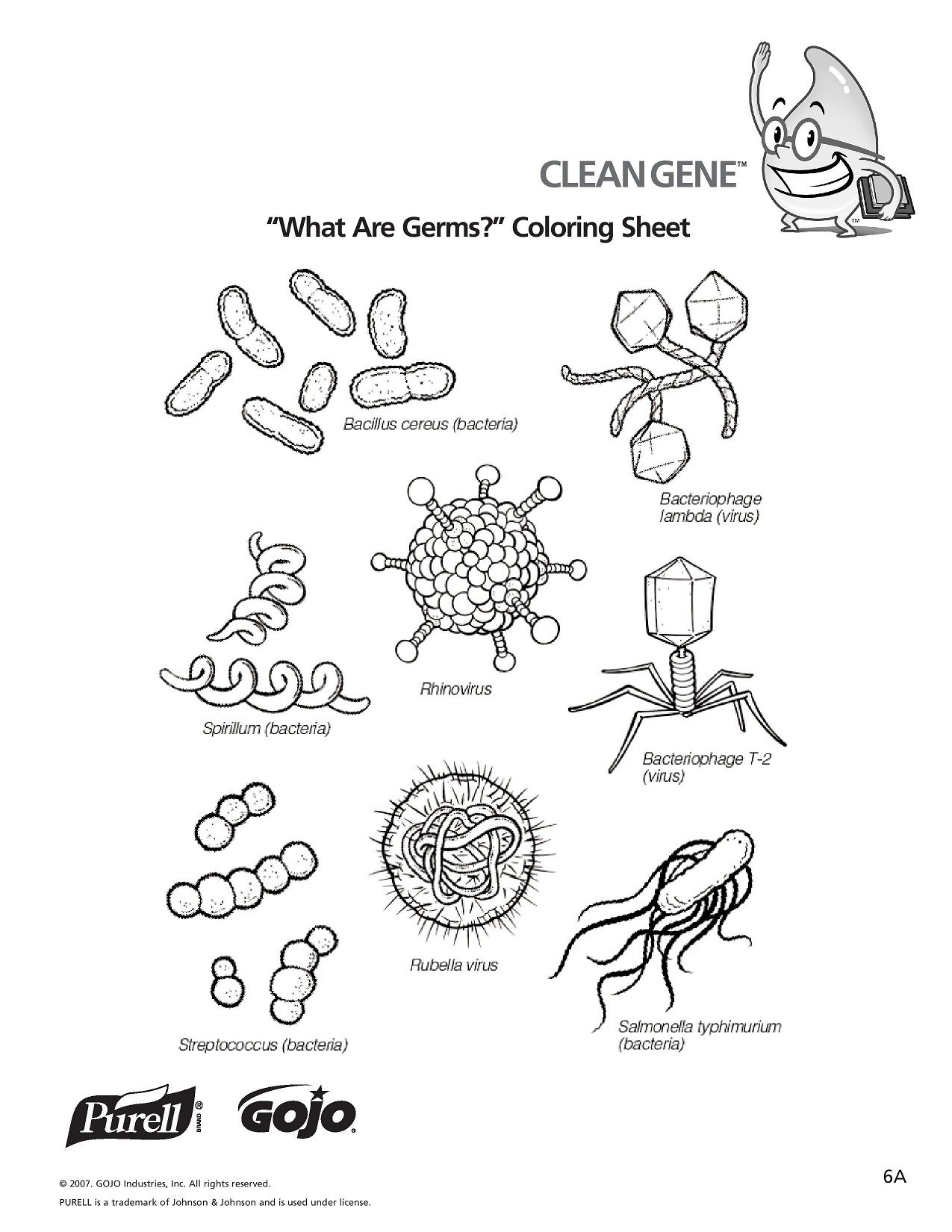 K 5 Hand Hygiene Lesson Plans And Worksheets Lesson 6 Page 1