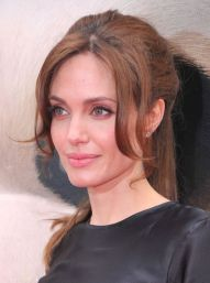 A Complete Guide To Bangs - Angelina Jolie