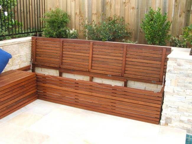 Diy Outdoor Corner Bench Outdoor Storage Seating Bench