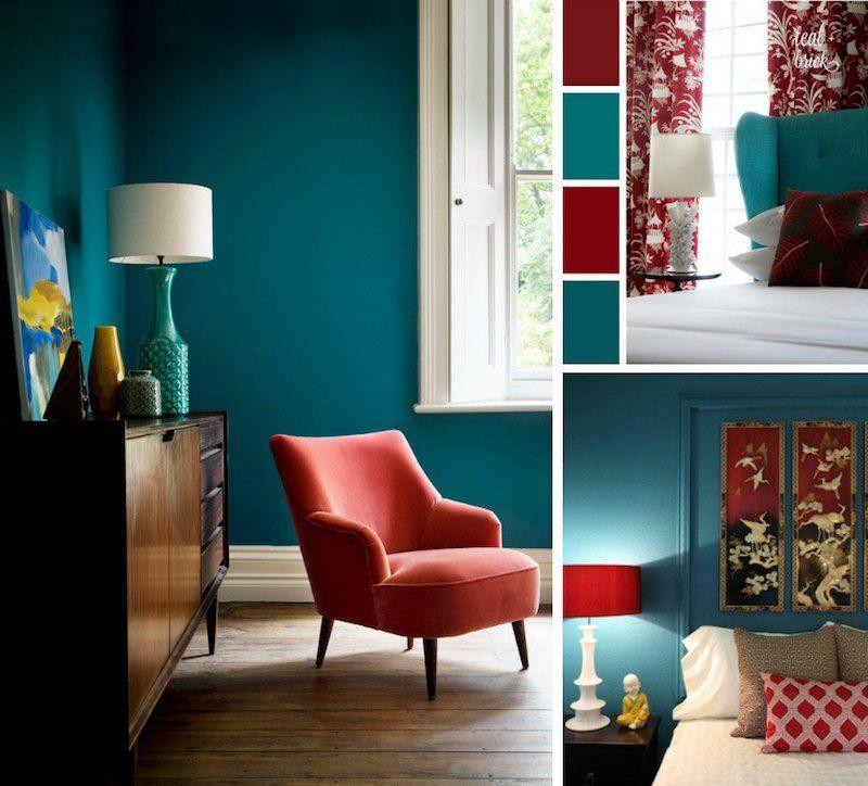 chambre bleu canard avec quelle couleur accords classe et idees deco