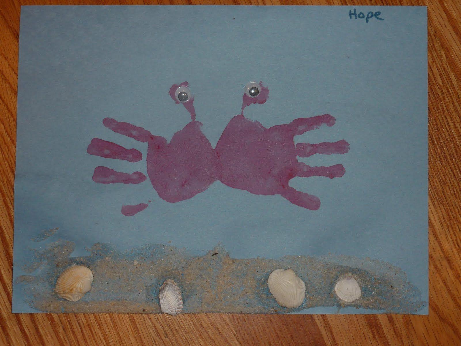 Preschool Sea Life Crafts