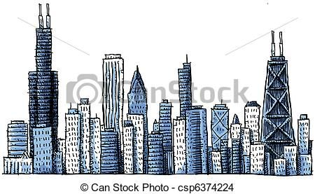 Chicago Illustrations And Clipart 1229 Chicago Royalty