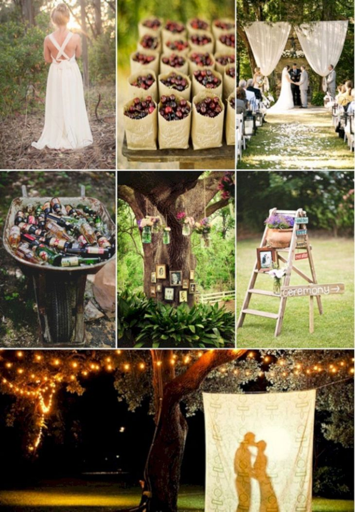 Best Backyard Wedding Decoration Ideas On A Budget  Backyard