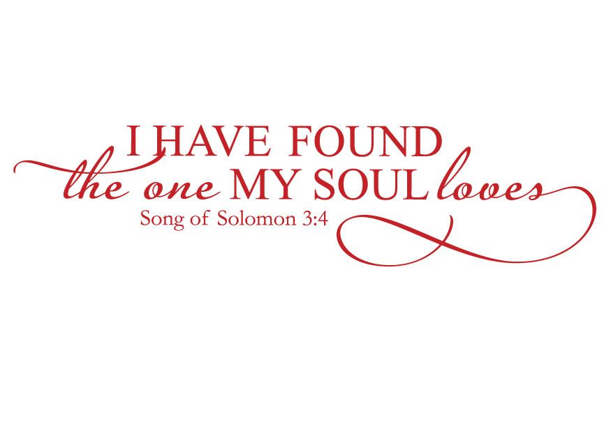 Download i have found the one whom my soul loves   Advice ...