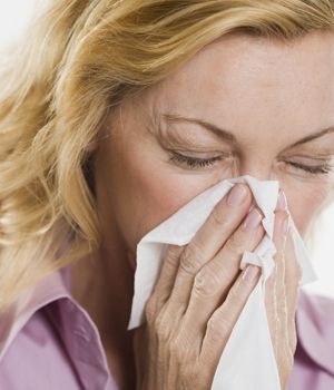 Runny Nose Sneezing Red Watery Eyes Nasal Congestion Itchy Throat And A