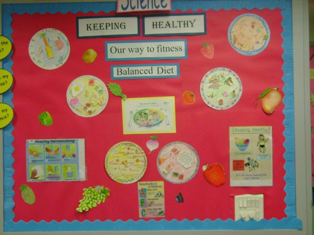 Healthy Food Bulletin Board Ideas