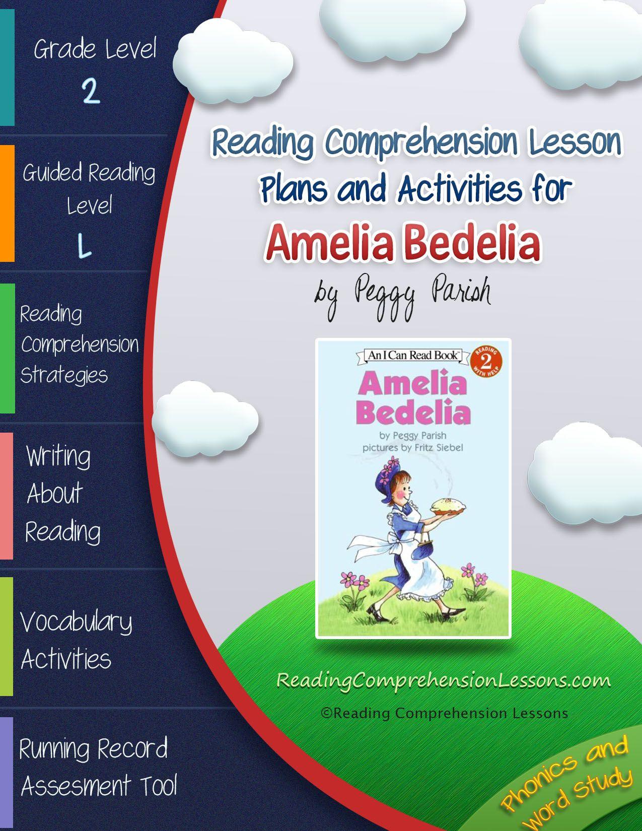 Amelia Bedelia Lesson Plans Amp Activities Package Second