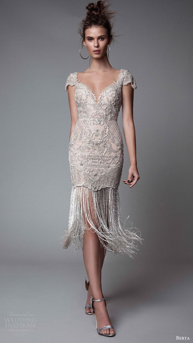 Que lindo  Style  Pinterest  Berta bridal Gowns and Wedding dress
