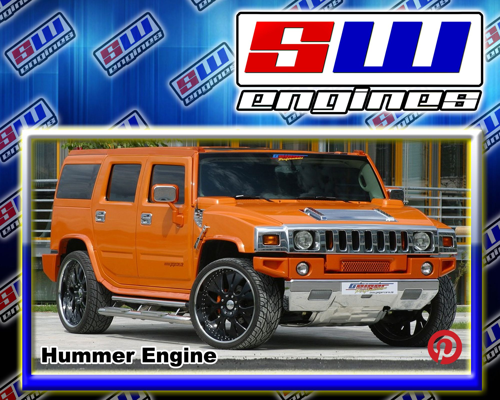 SWEngines Check out the different models of Hummer car