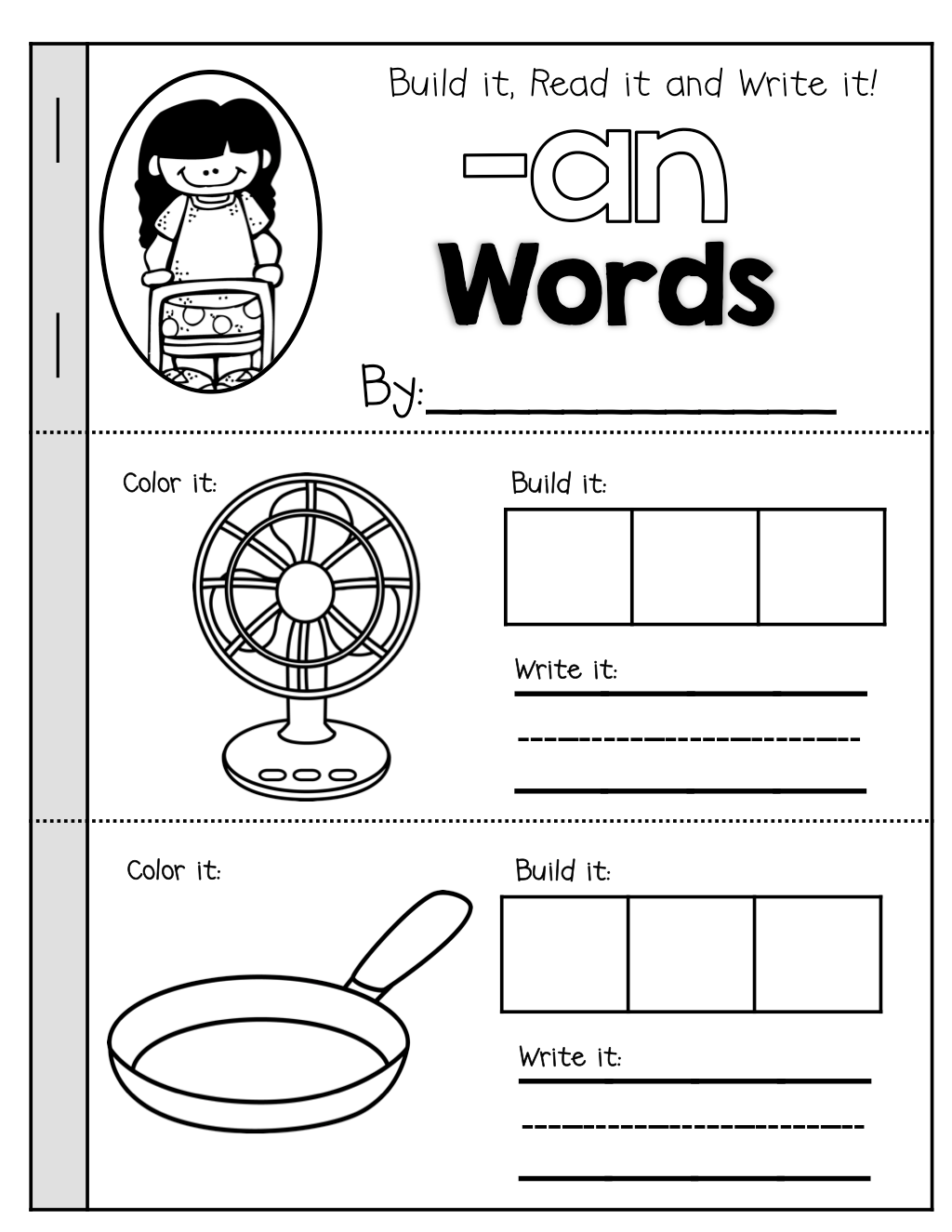 Ap Word Family Worksheet