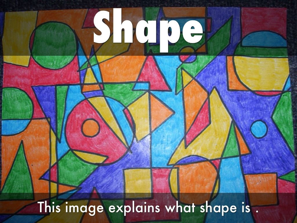 Images For Gt Element Of Art Shape Example