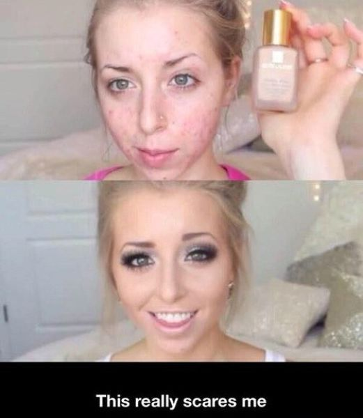 If make up can do this There might be a lot of fake peole