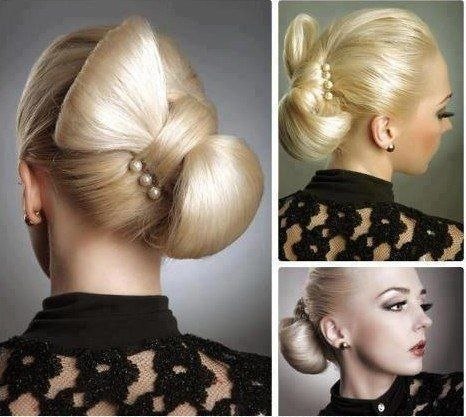 Bow hairstyle | Woman Hair and Beauty pics