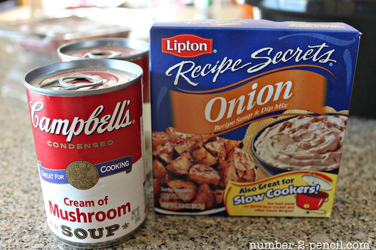 Easy Crock Pot Pot Roast with Gravy – I generally use only the Lipton packet, bu