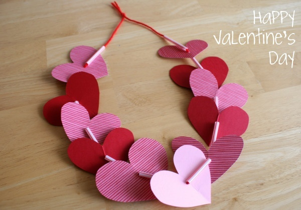 Heart cut outs bracelet – a possible lacing project for younger ones