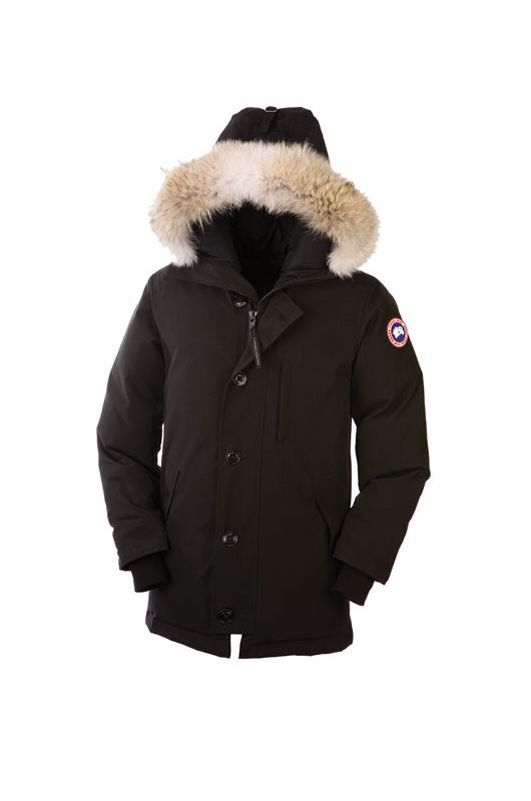 Canada Goose Outlet Chateau Parka Men Black With Highly Recommend – $389