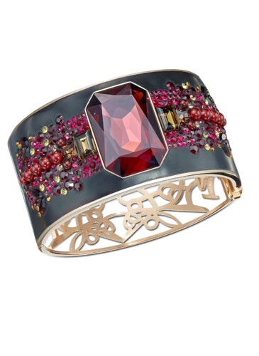 Gorgeous!  @Swarovski Cuff #jewelry #fashion