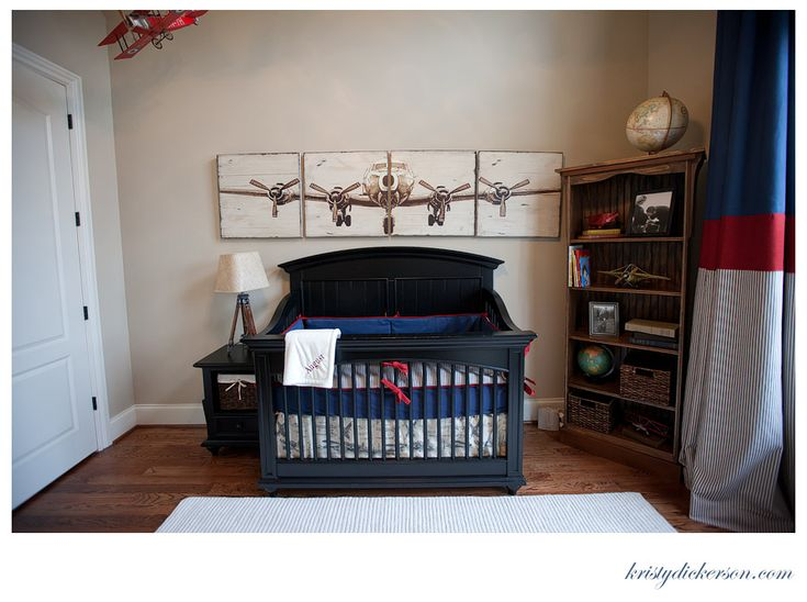 Vintage Airplane Art – possible DIY with large photocopy transfers on wood panel