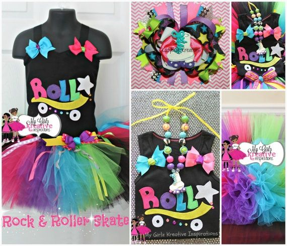 Roller Skating Party Decoration Ideas | Rock and Roller Skate – Retro 80s Baby N