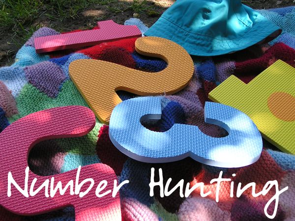 Number Hunting Fun – with a little tweaking to the game, I can see having lots o