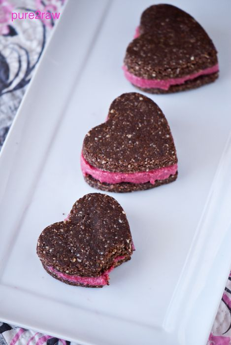 i made these raw cookies for valentines day this year, and they were surprisingl