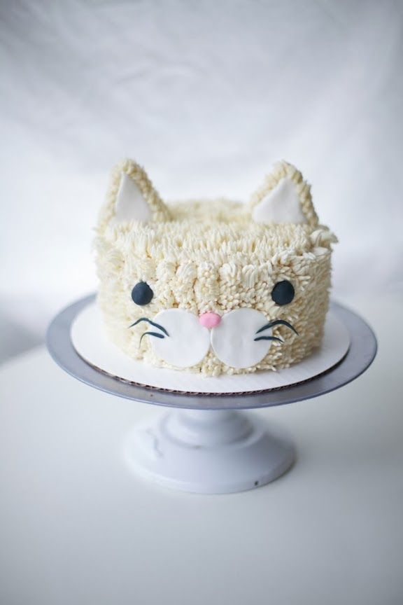 hey cool guy! cat buttercream cake by coco cake land