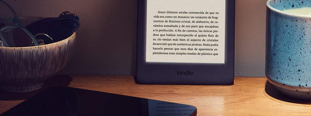 Kindle Touch 2019 con luz integrada (Ebooks) | S-partan es  es