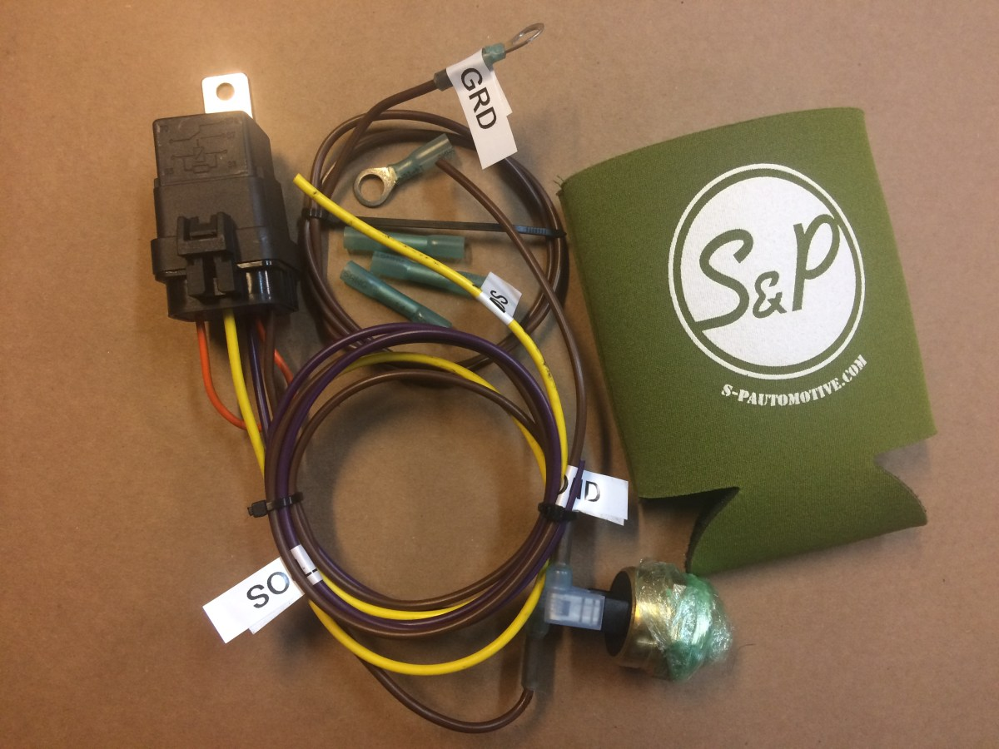 Fan Monitoring System : Fan control system s p automotive