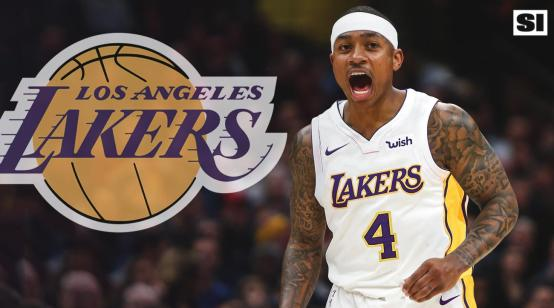 Isaiah Thomas Lakers