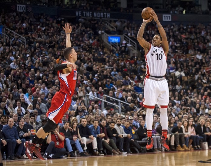 NBA: Los Angeles Clippers at Toronto Raptors
