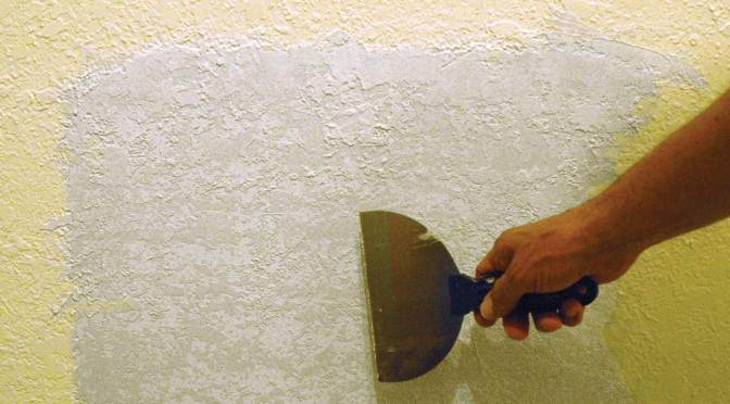 How to Repair Damaged Textured Drywall