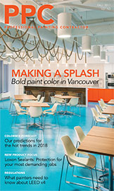 Fall 2017 cover of Professional Painting Contractor magazine