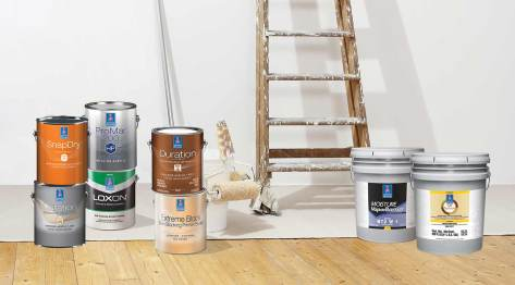 New 2018 products and line extensions of Sherwin-Williams coatings