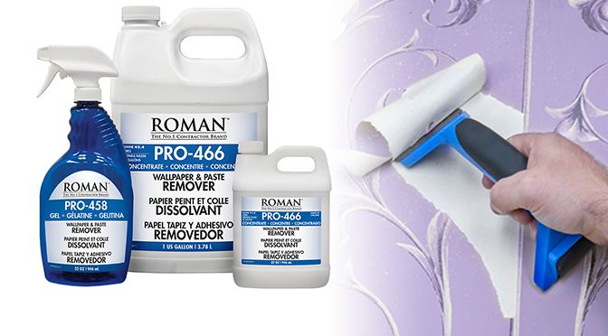 Strip Wallpaper Faster With ROMAN Removers