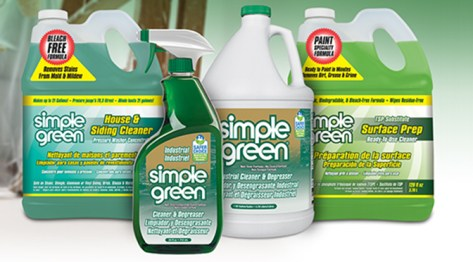 Simple Green products are specifically designed for performance and safety.