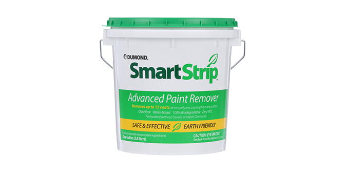 Fall 2018 advertorial image of Smart Strip™ Advanced Paint Remover