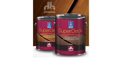 Fall 2018 advertorial image of SuperDeck® Deck Finishing System