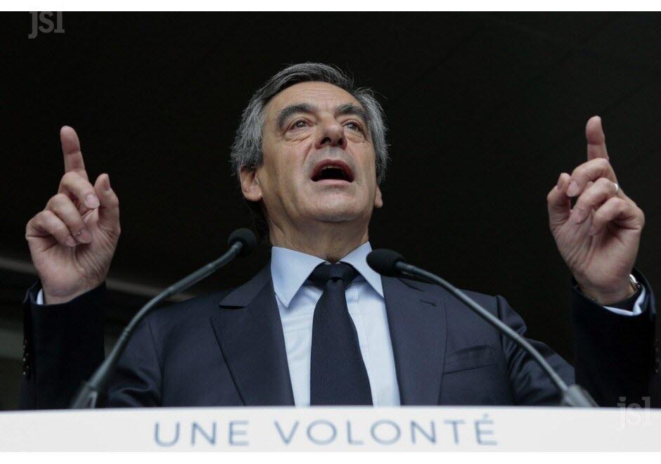 Le candidat LR à la présidentielle, François Fillon. Photo AFP
