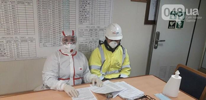 Эпидемиологи в Одессе обследовали экипаж судна из Китая