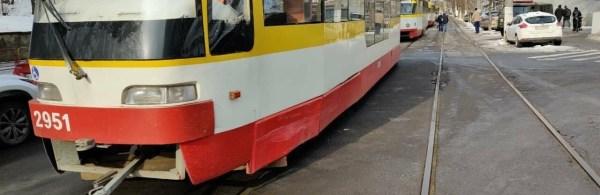 В одесской Аркадии Мерседес столкнулся с трамваем, - ФОТО ...