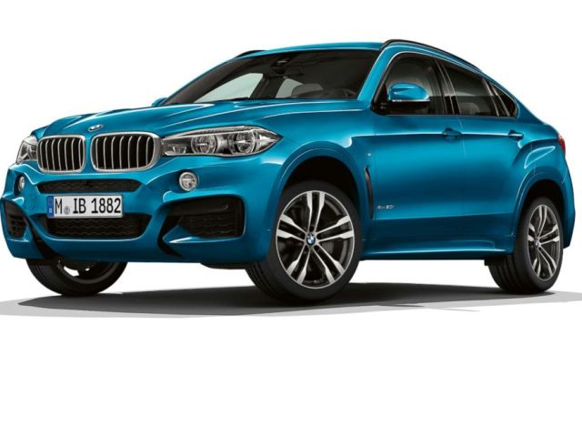 PHOTO: The BMW X6 M is seen here.