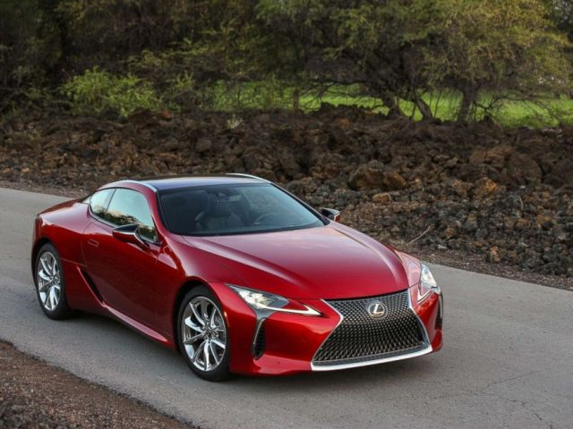 PHOTO: The Lexus LC 500