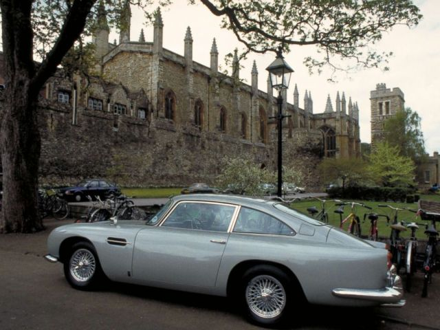 PHOTO: An original Aston Martin DB5