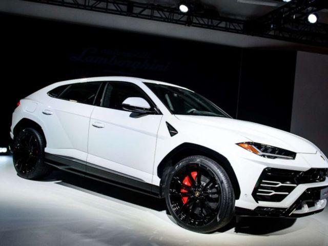 PHOTO: The Lamborghini Urus is seen here.