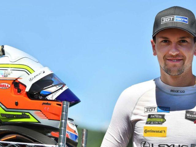 PHOTO: Dominik Baumann of Austria was part of the 3GT Racing team, which competed in IMSAs WeatherTech SportsCar Championship.