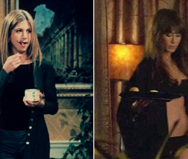 Photo Jennifer Aniston In Friends Left And