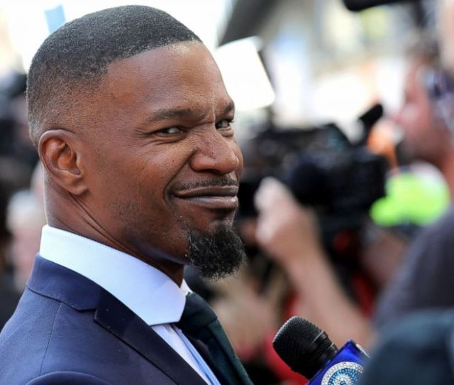 Jamie Foxx Attends The European Premiere Of Sony Pictures Baby Driver On June 21